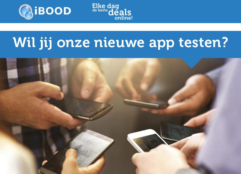 Test jij onze nieuwe app?